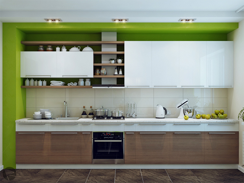 Mẫu phòng bếp cá tính giúp tối ưu công năng sử dụng