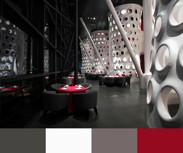 Ảnh 06. Ý tưởng thiết kế nội thất nhà hàng năm 2017