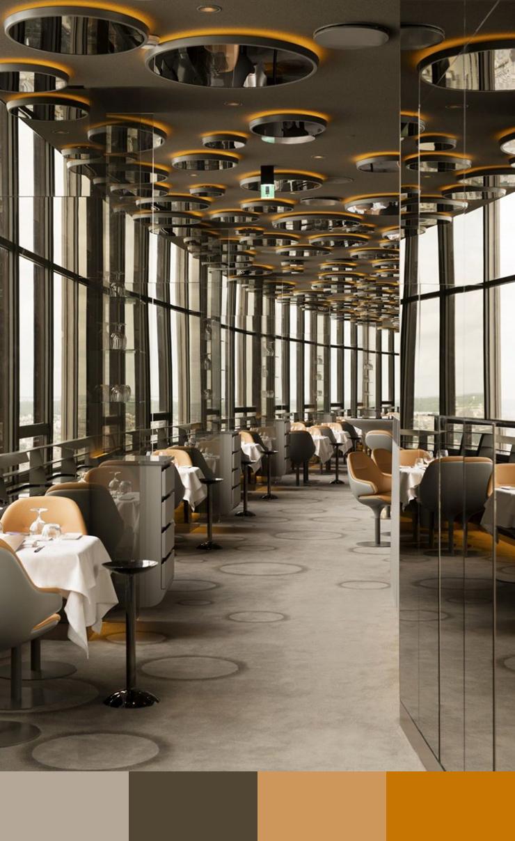 12. Kiến trúc độc đáo làm nên vẻ đẹp của thiết kế nhà hàng này