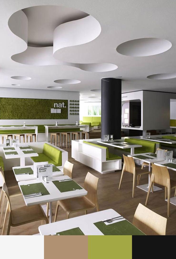 Ảnh 16. Ý tưởng thiết kế nội thất nhà hàng năm 2017