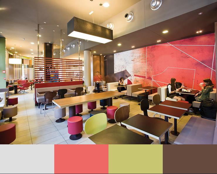 Ảnh 18. Ý tưởng không gian thiết kế nhà hàng văn phòng năm 2017
