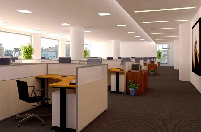 Thiết kế văn phòng đẹp, hiện đại