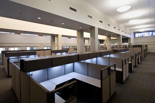 Không gian văn phòng đẹp theo phong cách hiện đại