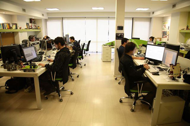 Thiết kế văn phòng đẹp, tỉ mỉ, độc đáo