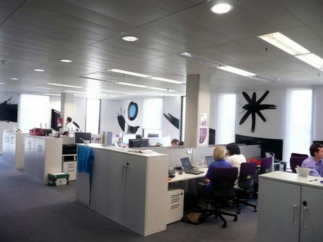 Thiết kế văn phòng đẹp sang trọng, ấm cúng