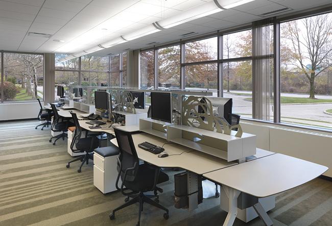 Thiết kế văn phòng đẹp theo không gian mở