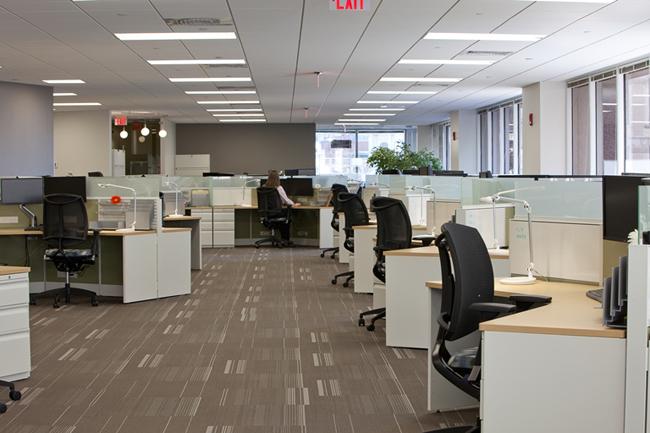 Thiết kế văn phòng làm việc đẹp mang màu sắc mới lạ