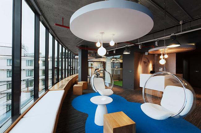 Thiết kế phòng nghỉ ngơi đẹp cho văn phòng hiện đại