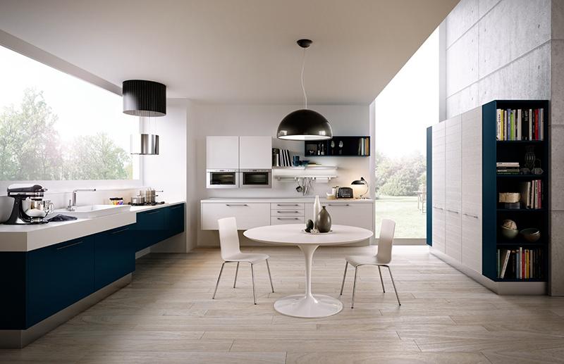 Tận dụng triệt để ánh sáng tự nhiên để tạo sự thông thoáng trong thiết kế bếp