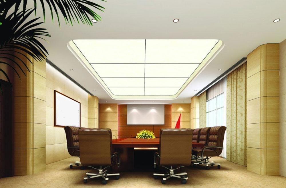 Nội thất văn phòng đẹp với ánh sáng phù hợp