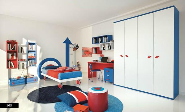 15. Nếu bạn cần một ý tưởng sáng tạo hơn thì đây có thể là mẫu phòng ngủ trẻ em bạn đang tìm