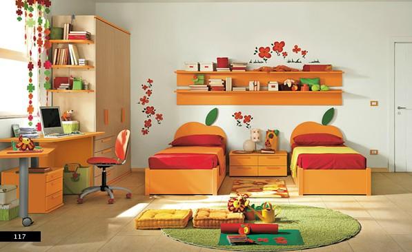4. Ngoài màu sắc, những họa tiết trang trí ngộ nghĩnh sẽ giúp trẻ thích thú hơn