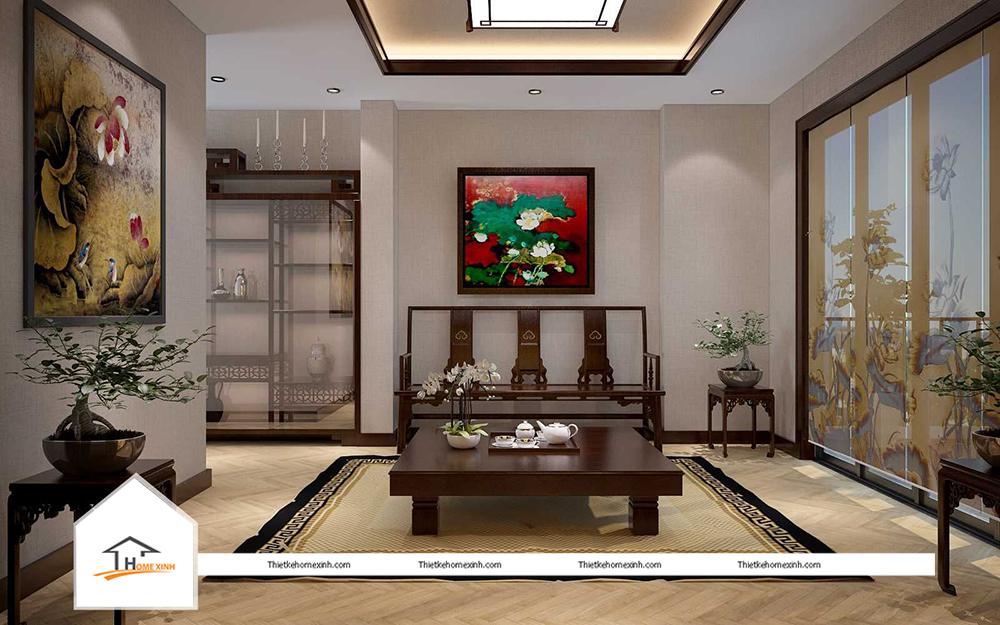 Nội thất biệt thự tại Ecopark Hưng Yên - thiết kế homexinh