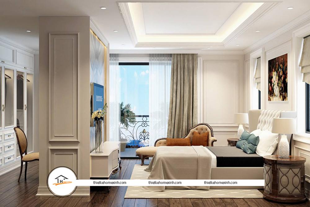 Thiết kế nội thất phòng ngủ hiện đại tại biệt thự Tiên Du, Bắc Ninh - 220120