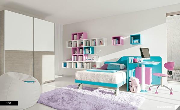 9. Màu sắc nhẹ nhàng cho phòng ngủ bé