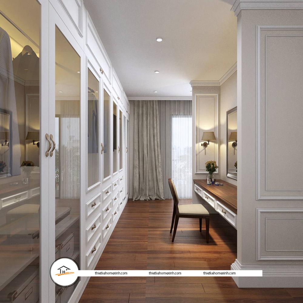 Thiết kế nội thất phòng ngủ hiện đại tại biệt thự Tiên Du, Bắc Ninh - 220125