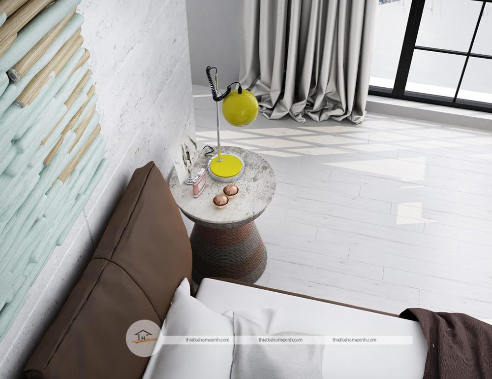 Thiết kế phòng khách nhà phố tại Nam Định