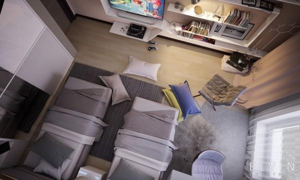 Những món đồ nội thất được lựa chọn giúp cho căn phòng tạo được nhiều thiện cảm với bé
