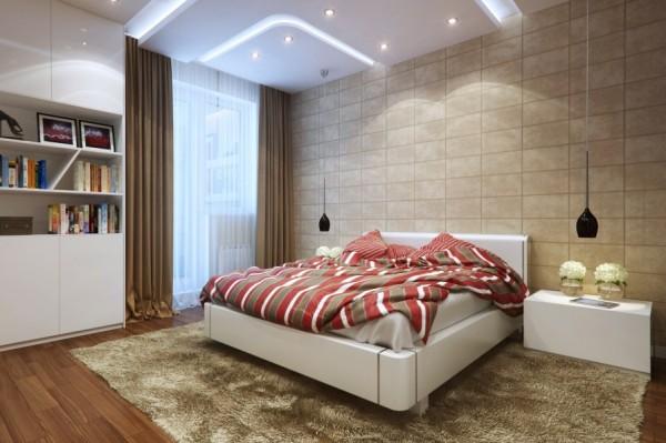 Mẫu nội thất phòng ngủ đẹp, đơn giản - Giường ngủ