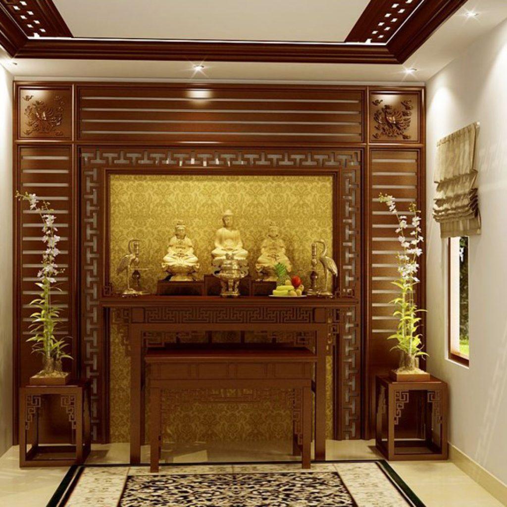 bàn thờ Phật tại nhà