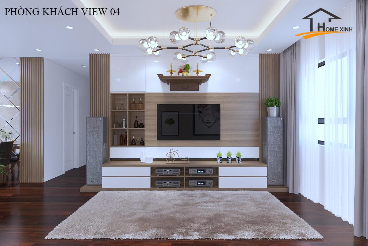 Phong cách thiết kế căn hộ chung cư hiện đại