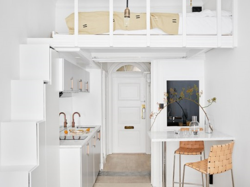 căn hộ nhỏ ở Montmartre