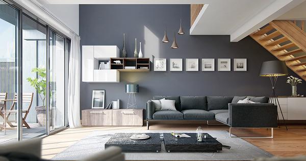 thiết kế chung cư 90m2 1