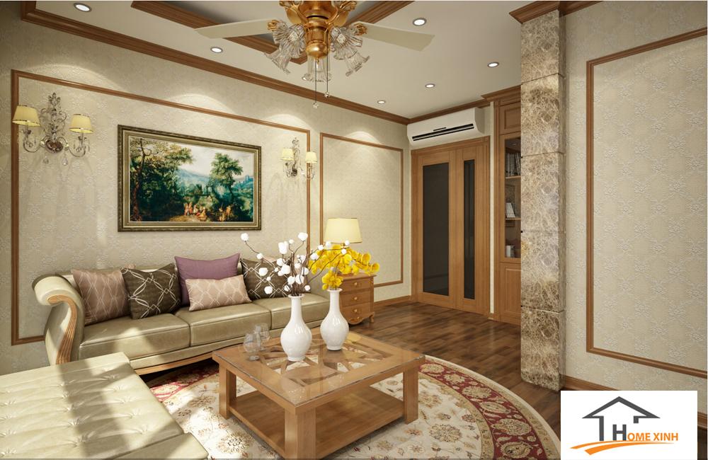 Thiết kế nội thất nhà phố - Phòng khách