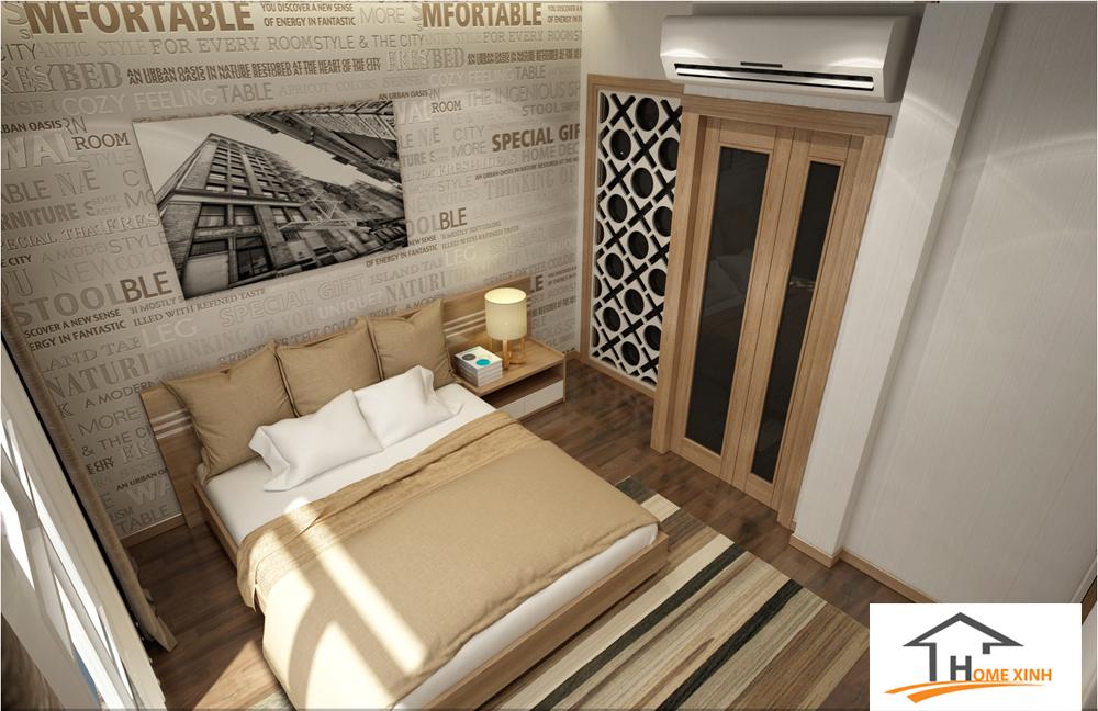 Thiết kế nội thất nhà phố - Phòng ngủ nhỏ