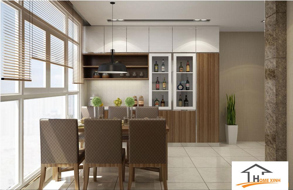 Thiết kế nội thất nhà phố - Phòng bếp