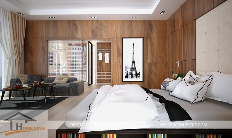 Thiết kế nội thất phòng ngủ master - Ảnh 01