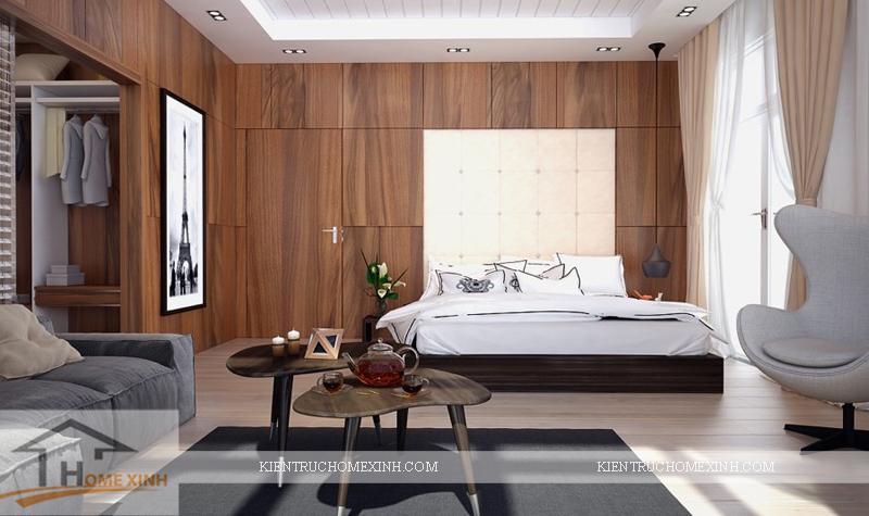 Thiết kế nội thất phòng ngủ master - Ảnh 02