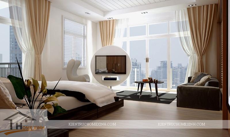 Thiết kế nội thất phòng ngủ master - Ảnh 04