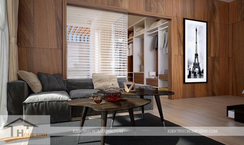 Thiết kế nội thất phòng ngủ master - Ảnh 05