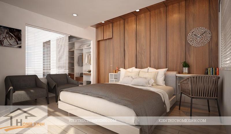 Thiết kế nội thất phòng ngủ ông bà - Ảnh 10