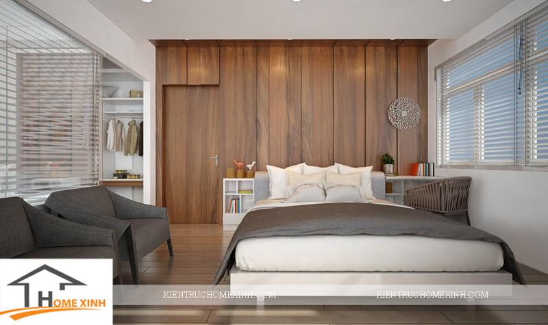 Thiết kế nội thất phòng ngủ ông bà - Ảnh 02