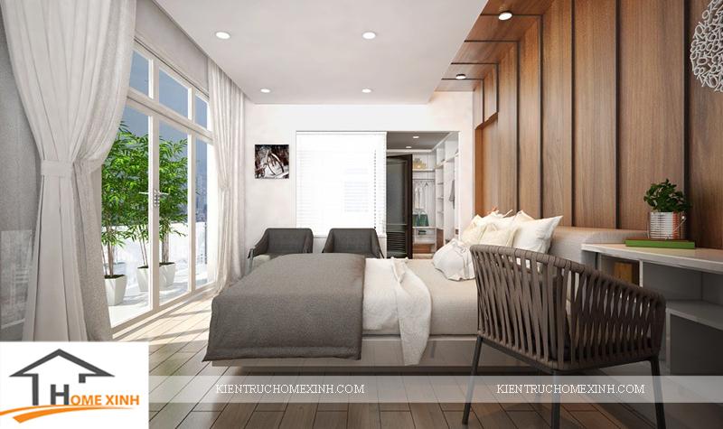 Thiết kế nội thất phòng ngủ ông bà - Ảnh 03