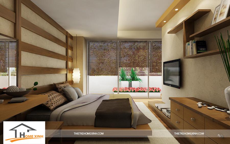 Phòng ngủ master thư thái, ấm áp