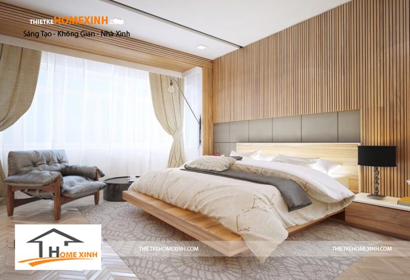 nội thất phòng ngủ biệt thự nghệ an