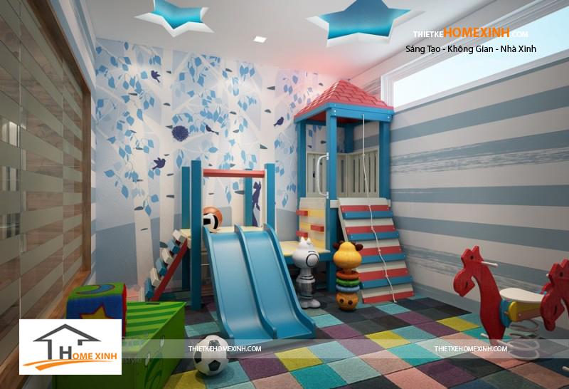 nội thất phòng trẻ em biệt thự nghệ an