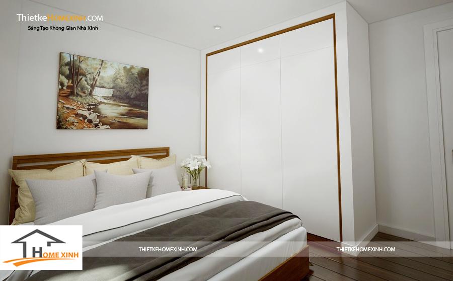 Thiết kế nội thất phòng ngủ nhà phố trẻ em với màu sắc tươi sáng