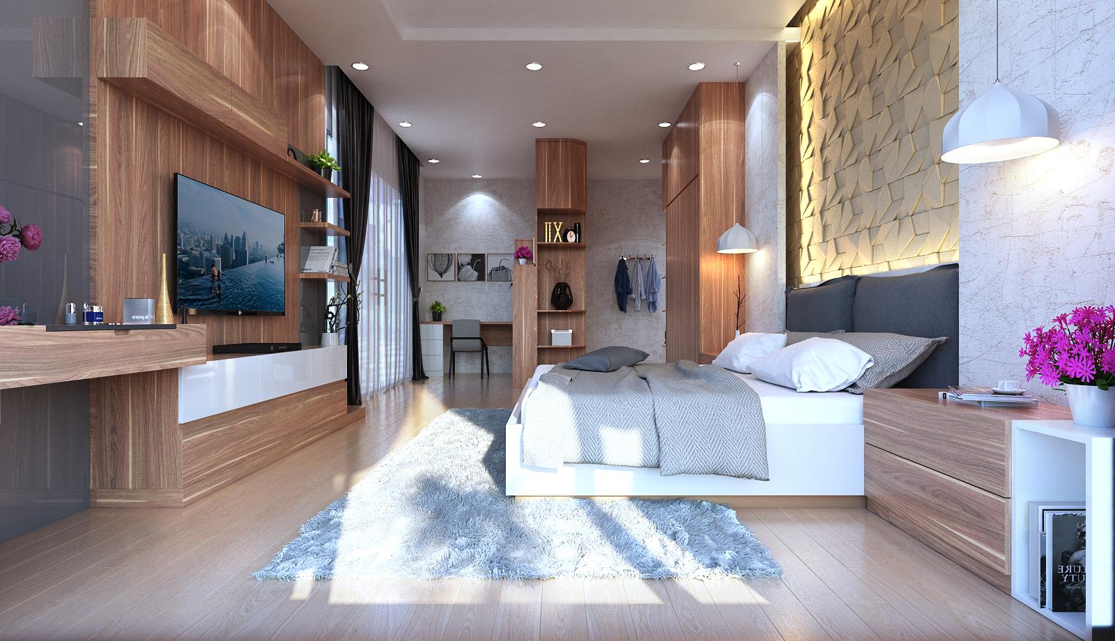 Thiết kế nội thất phòng ngủ độc đáo, mới lạ