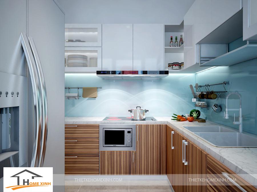 Thiết kế nội thất không gian phòng bếp và ăn tiện nghi