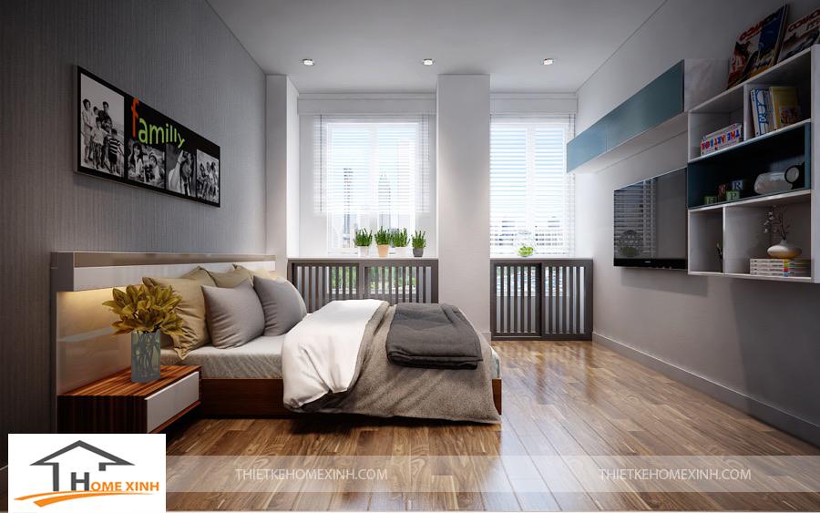Phòng ngủ của con với thiết kế trẻ trung hơn