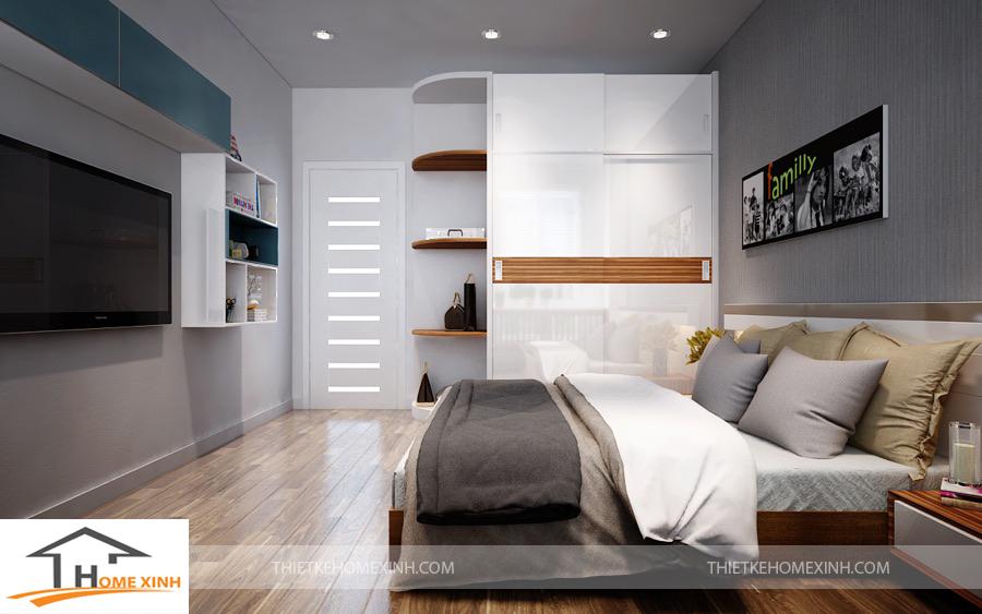 Không gian phòng ngủ hiện đại, sang trọng