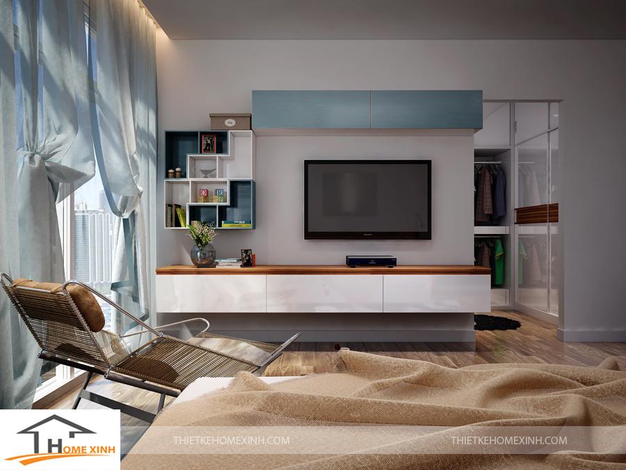 Phòng ngủ master đẹp và sang trọng với công năng tối ưu