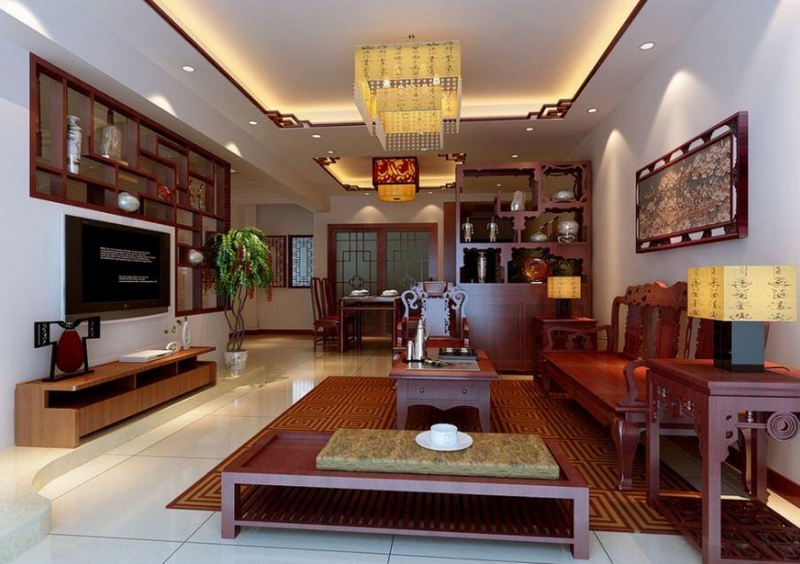 Thiết kế phòng khách với nội thất gỗ tự nhiên