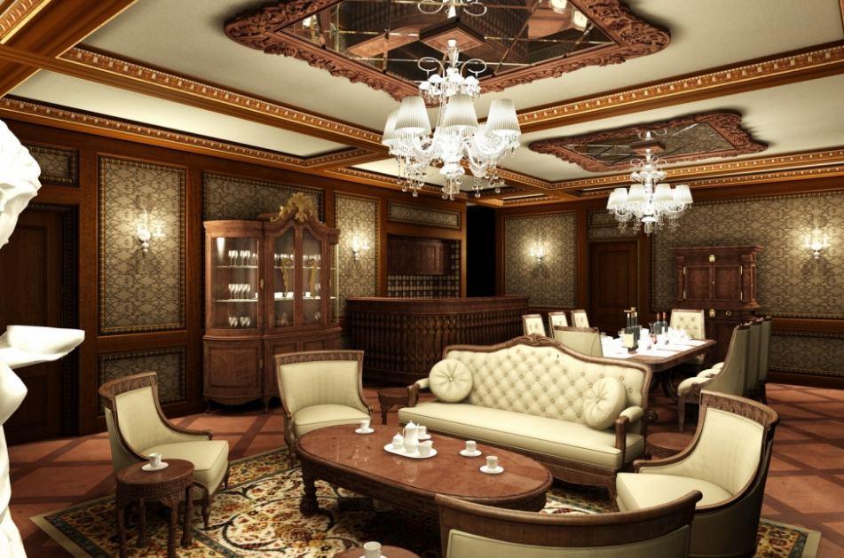 Thiết kế phòng khách biệt thự đẹp