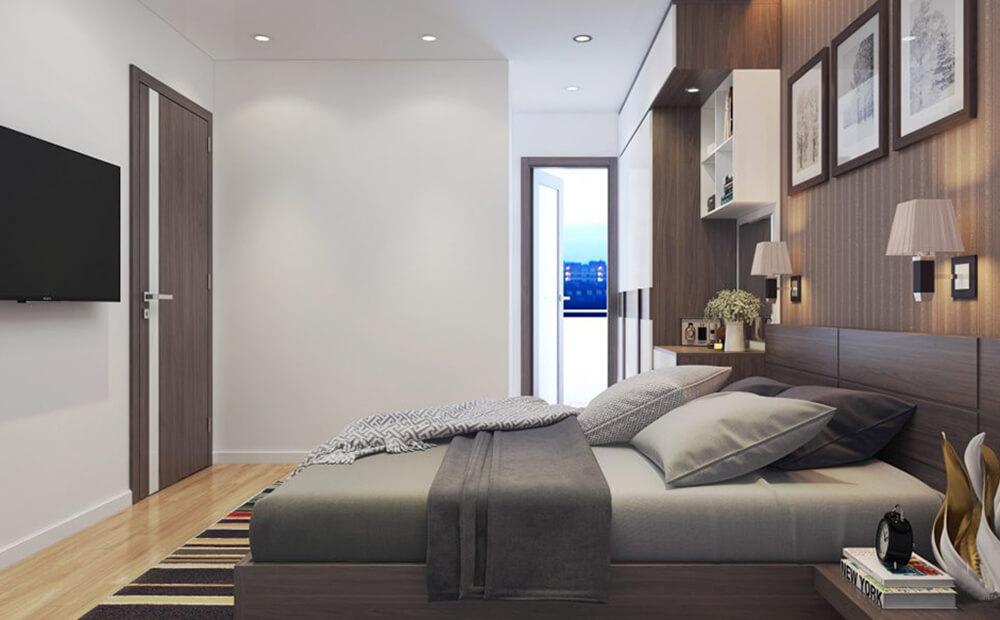 Nội thất phòng ngủ chung cư An Bình