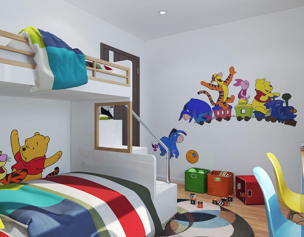 Giường ngủ với thiết kế hiện đại và tinh tế